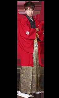 男性成人式袴