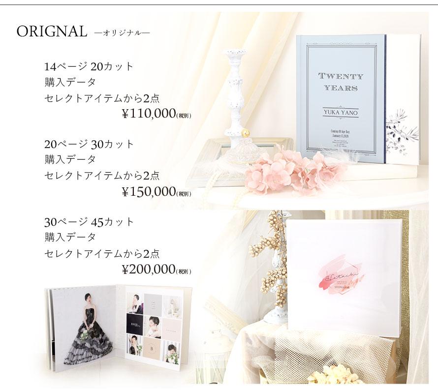 成人式アルバム価格2