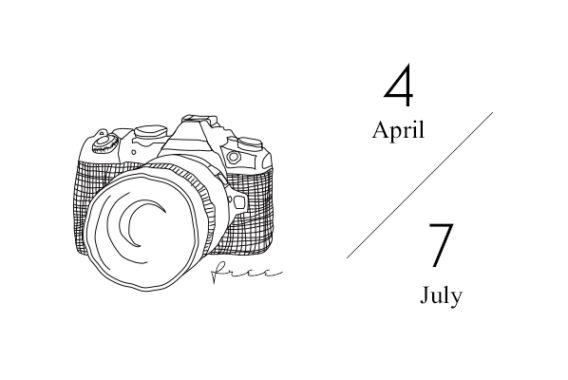 4月から7月撮影無料