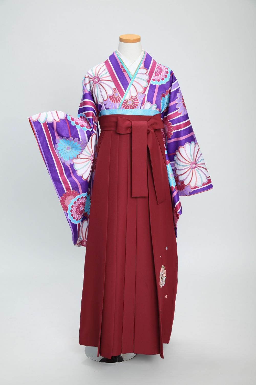 ✨卒業式袴コーディネート ~紫~