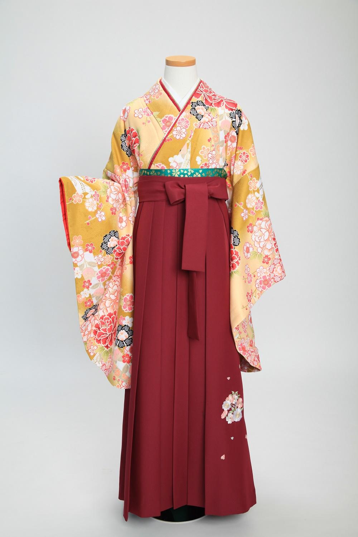 ✨卒業式袴コーディネート ~黄色~
