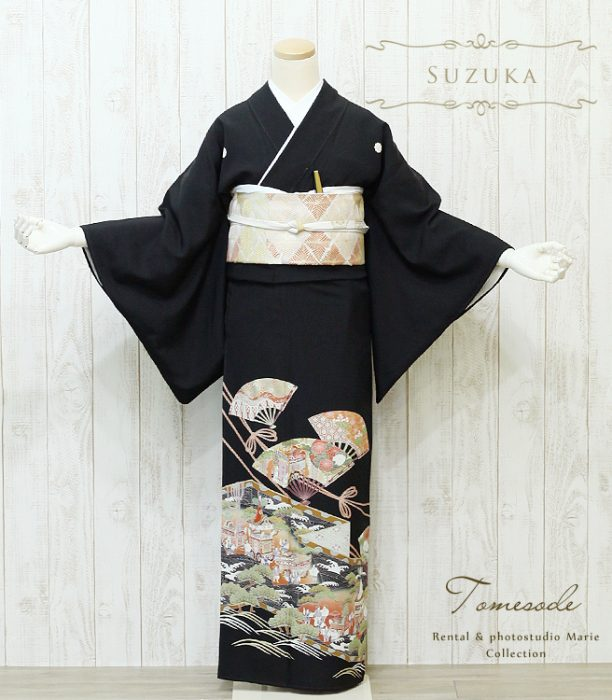 黒留袖 T0144 L