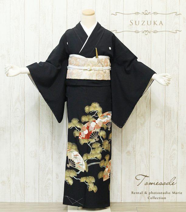黒留袖 T1272 S