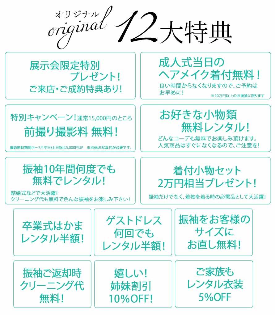 12大特典